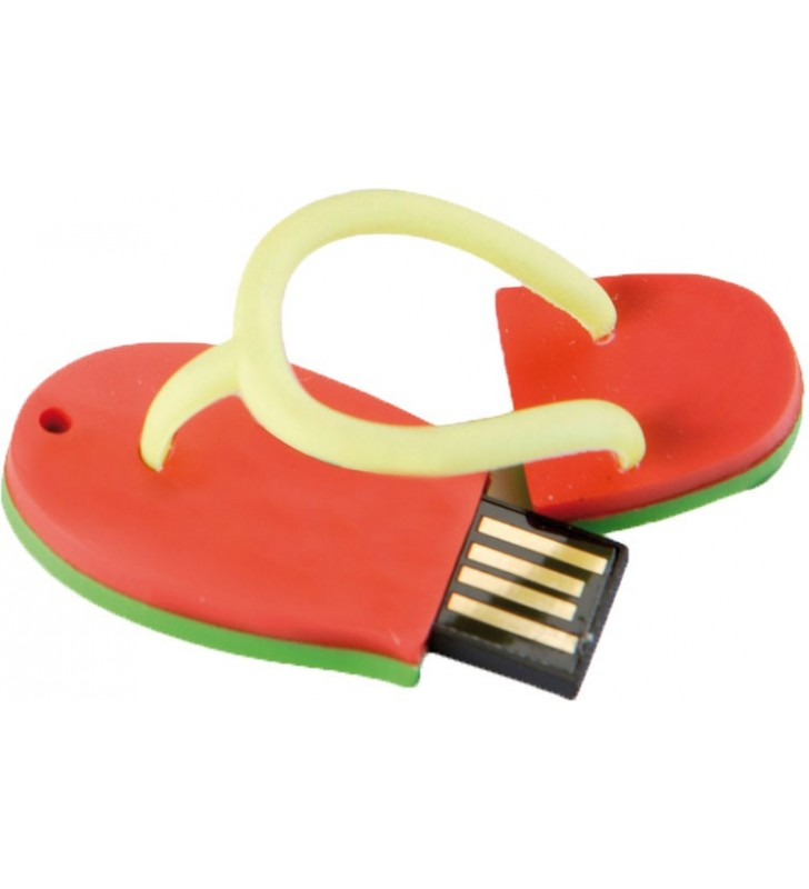 USB pen drive with the 2D or 3D shape
