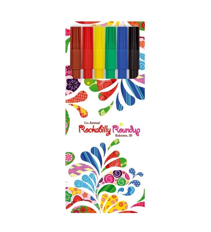 Kids Visa BritePix Set of 6 felt pens