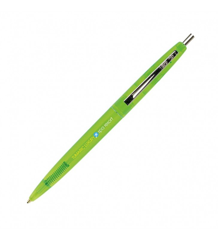 Personalised ECO-FRIENDLY plastic pen BIC Clic