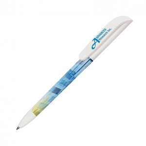 Personalised plastic pen BIC Super Clip Digital