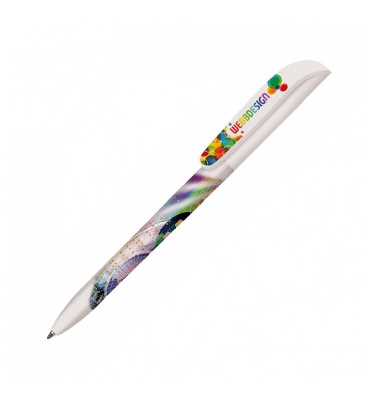 Penna in plastica BIC Super Clip Britepix Digital personalizzata