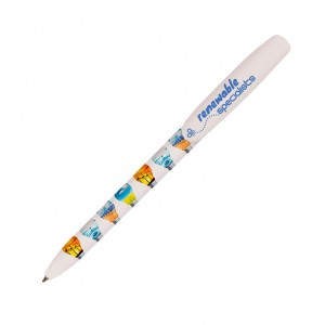 Personalised ECO-FRIENDLY plastic pen BIC SUPER CLIP DIGITAL