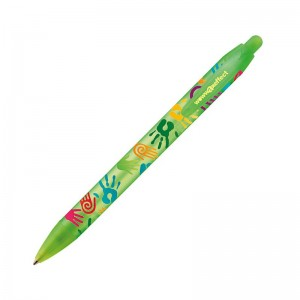 Personalised plastic pen BIC Wide Body Digital