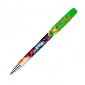 Personalised plastic pen BIC SUPER CLIP ADVANCE BRITEPIX DIGITAL