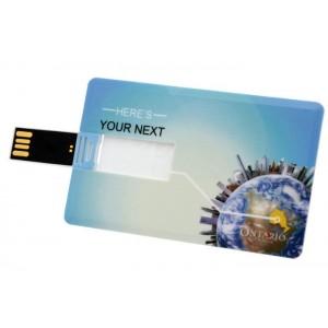 Clé format carte de crédit capacité 4go