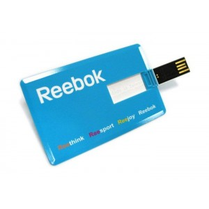Usb carta di credito da 8 gb