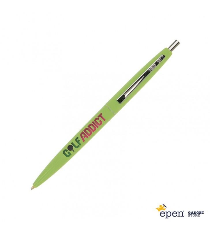 Penna in plastica BIC Clic ECOLOGICA personalizzata