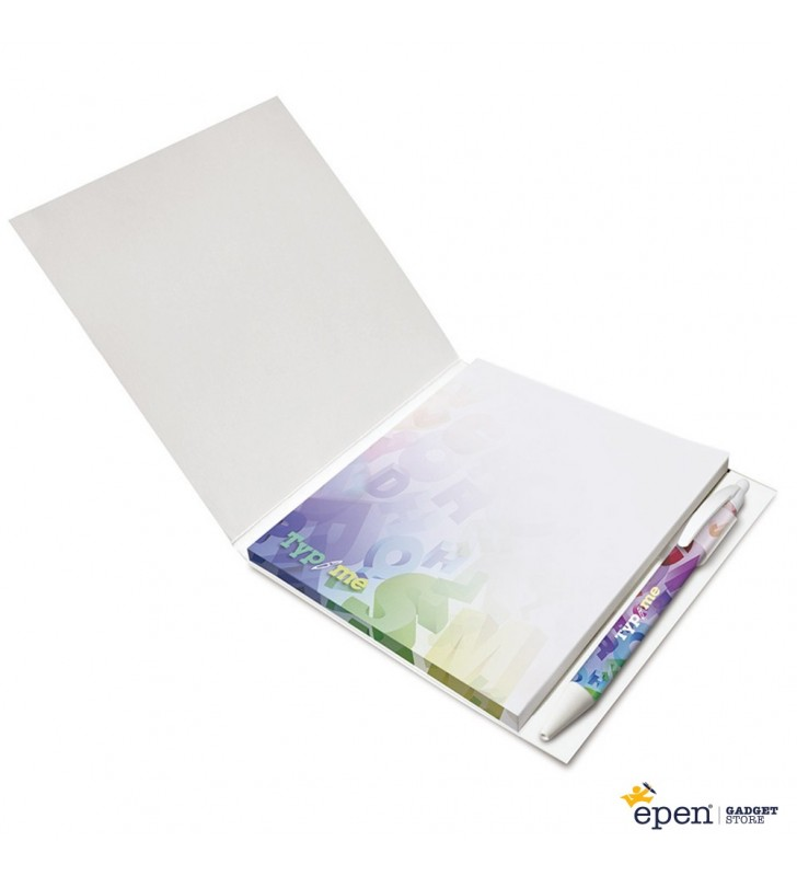 Booklet with Pen Loop 150 mm x 150 mm