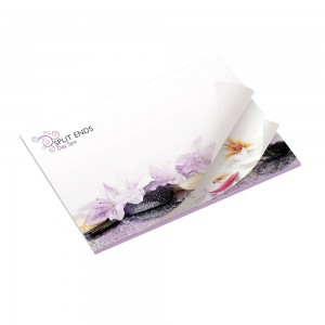 101mm x 75mm Adhesive Notepads Alternating
