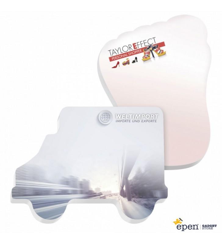 101 mm x 75 mm Adhesive Die Cut Notepads