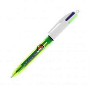 Penna BIC 4 Colori Fluo personalizzata