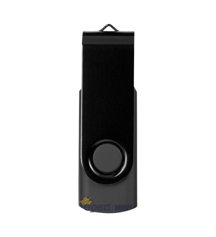 Clé USB Rectangulaire Métallisée - Capacité 1GO