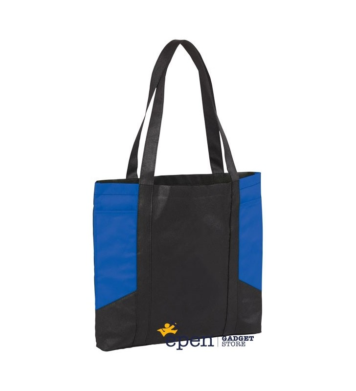 Joey coloured panel tote bag