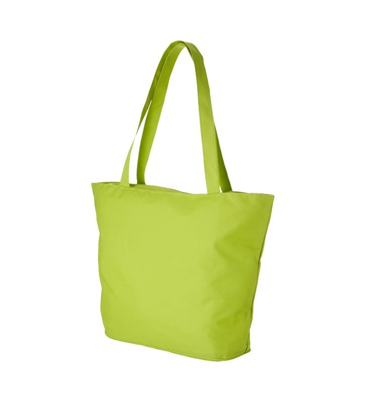 Panama zippered tote bag