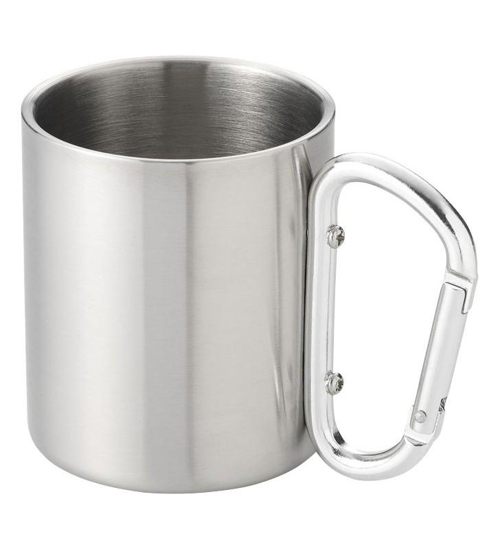 Alps 200 ml insulated mug with carabiner