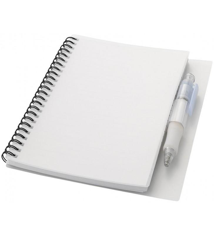 Hyatt notebook with pen