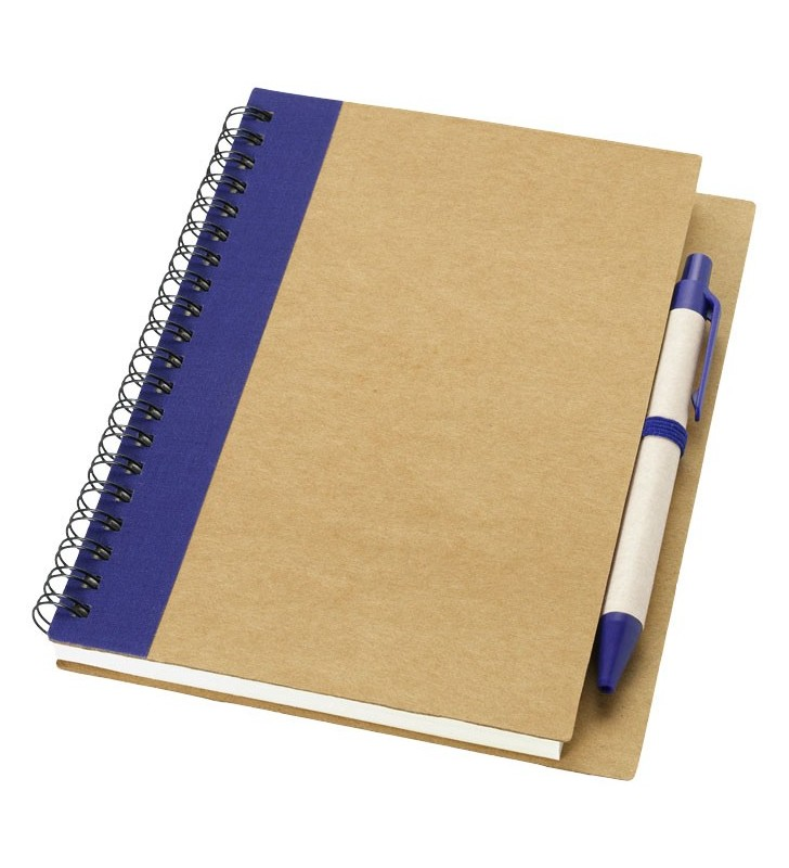 Notebook in carta riciclata con penna Priestly