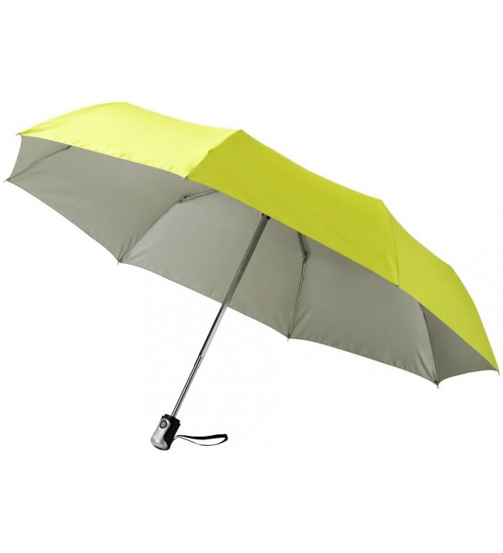 """Ombrello 3 sezioni 21,5"""" con apertura/chiusura automatica"""