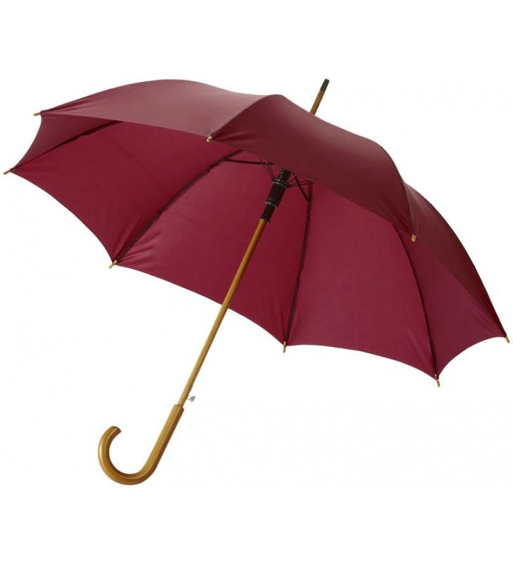 Paraguas automático con puño y bastón de madera de 23 Kyle