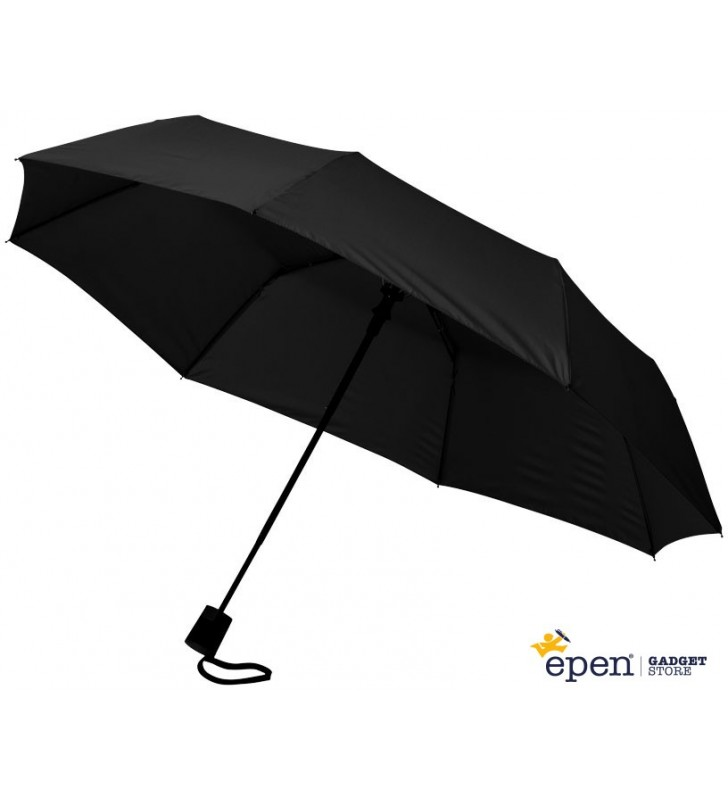 """Ombrello 3 sezioni 21"""" con apertura automatica"""