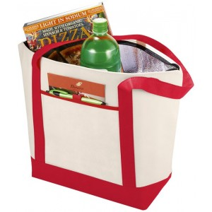 Lighthouse non-woven cooler...