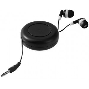 Reely retractable earbuds