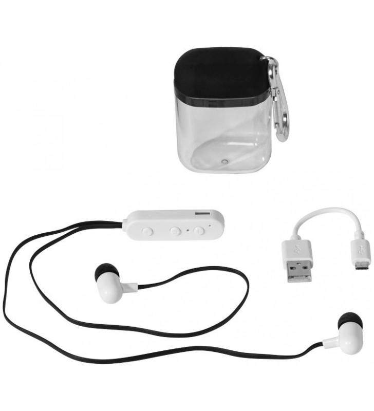 Auricolari Bluetooth® Budget con custodia dotata di moschettone