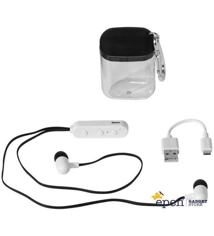 Oreillettes Bluetooth® Budget avec boîtier à...