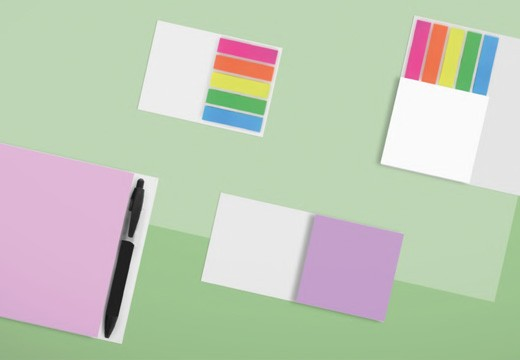 Sticky notes e Booklets Bic: ora stampabili anche all'interno!